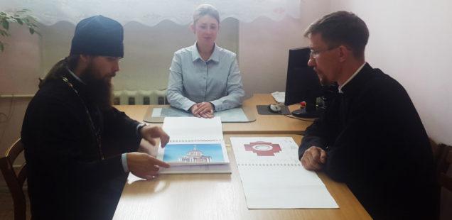 Встреча настоятеля храма с Главой МО «Лынгинское»